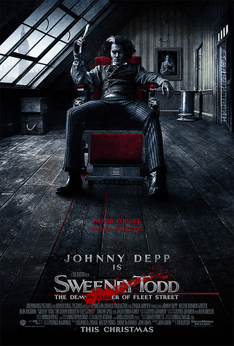 Cartel de Sweeny Todd